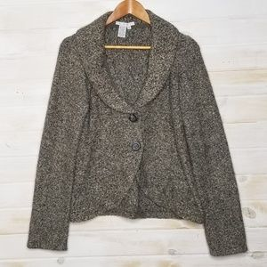 CAbi Cardigan Sweater Chunky Knit Button Down
